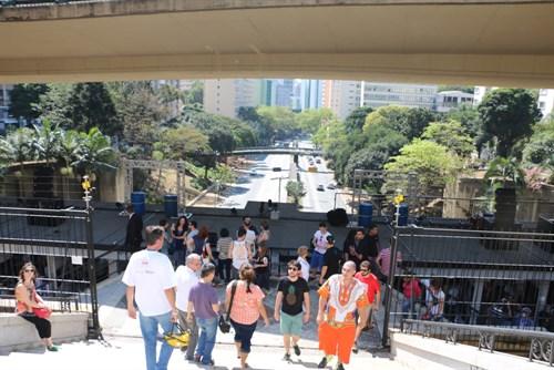 Mirante da Avenida Nove de Julho é mais uma opção de lazer aos paulistanos