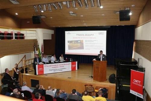 15ª reunião do Conselho Municipal de Transportes e Trânsito